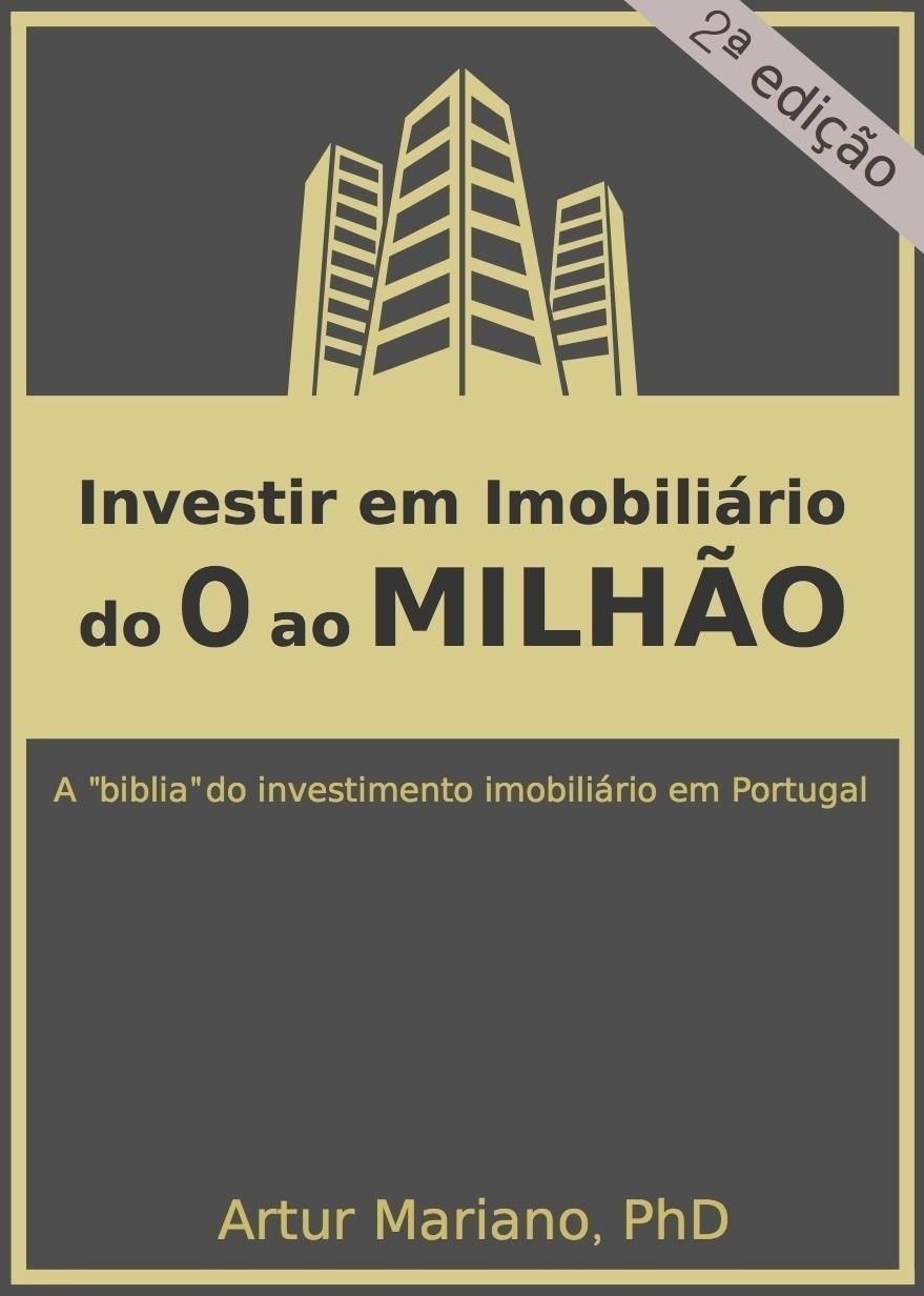 capa livro do 0 ao milhão investir em imóveis